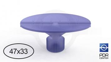 Фото Клеевой грибок Wurth, фиолетовый, овальный