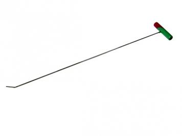 Фото Крючок №14n Длина 75 см, длина загиба 3 см 45º. Ø5 мм.