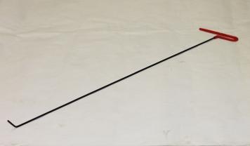 Фото Крючок Ø 4 мм, длина 800 мм,угол загиба 45º.