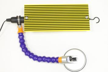 Фото Люминесцентная лампа на присоске 220В жёлтая LB-6
