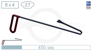 Фото Китовый хвост для сложного доступа КХ-ОК45