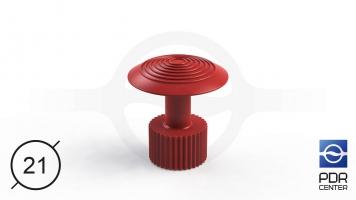 Фото Клеевой грибок Wurth, красный (Ø 21 mm)