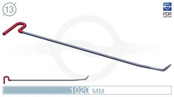 Фото Крючок с двойным загибом, стандартный кончик (длина 102 см, угол загиба 50º , Ø 13 мм)