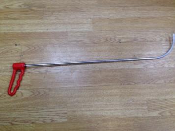 Фото Крюк с поворотной ручкой, длинный (Ø 7 мм, длина 700 мм)