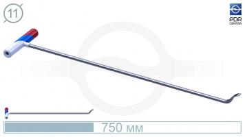 Фото Крючок PDRC-10 Длина крючка 70 см. Длина загиба 5 см. Угол загиба 90°. Ø11 мм