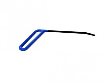 Фото Крючок №35 Длина 17 см.Длина загиба 4 см. Угол загиба 30°. Ø5 мм.