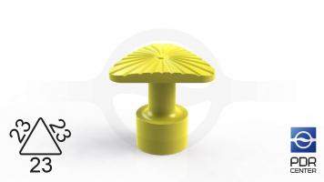 Фото Клеевой грибок NUSSLE SUPER, треугольный, 23*23*23 мм