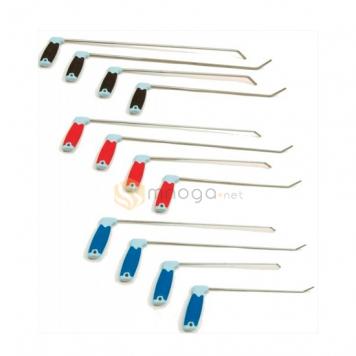 Фото Комплект крючков из пружинистой стали Quick Silver, плоские, 12 крючков