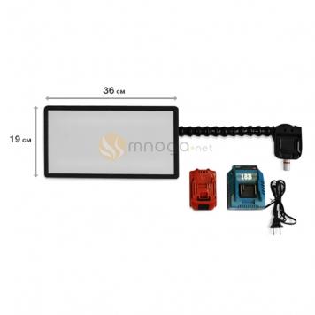 Фото Мобильная беспроводная аккумуляторная лампа Ultra Vision Led (+ аккумулятор и зарядное устройство в комплекте)