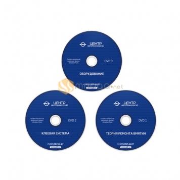 Фото Видеокурс для самостоятельного обучения удалению вмятин от Ultra Dent Tools на русском языке (3 DVD)