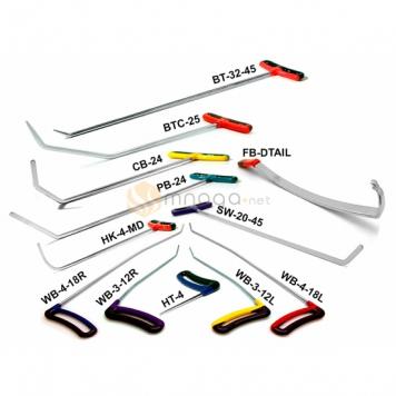 Фото Стартовый набор крючков (11 крючков, 1 рессора)