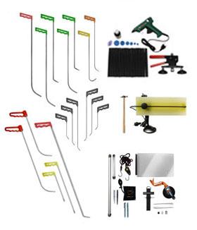 Инструменты по выправлению вмятин без покраски