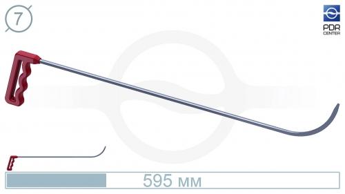 Крючок № 07 (Ø 7 мм, длина 585 мм, красный)