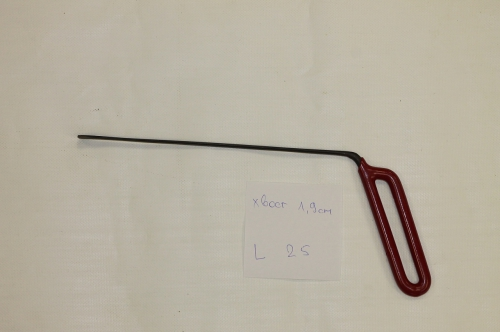 Хвост 1,9 мм, длина 250 мм.
