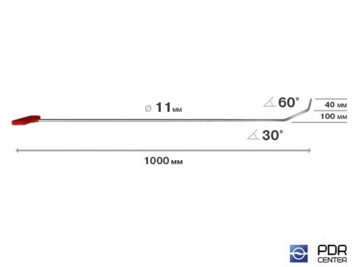 """""""Ibrahim"""" - крючок (Ø 11 мм, длина 1000 мм)"""