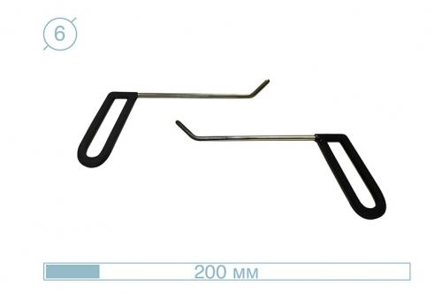 Крючки 12001 (PDRC-17) (Пара)
