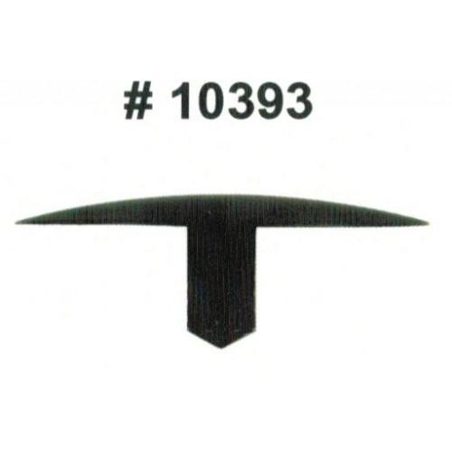Комплект клипс для автомобилей GM, черные, 25 штук (Ø отверстия 7.1 мм, Ø шляпки 40 мм)