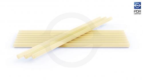 Клеевые стержни PDR CENTER, универсальные, жёлтые, 10 штук, 300 грамм.