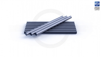 Фото Клеевые стержни усиленные, 10 штук, серебристые