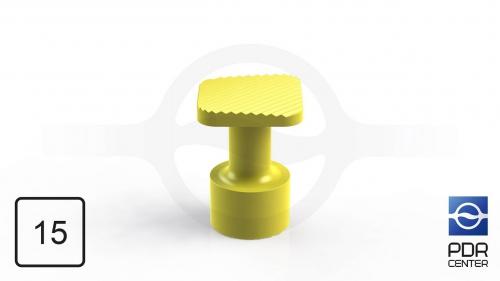 Клеевой грибок NUSSLE SUPER, квадратный, 15*15 мм