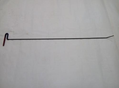 Крючок Ø 7 мм, длина 1100 мм,угол загиба 45º.