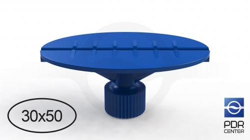 Клеевой грибок овальный, синий (30x50 mm)