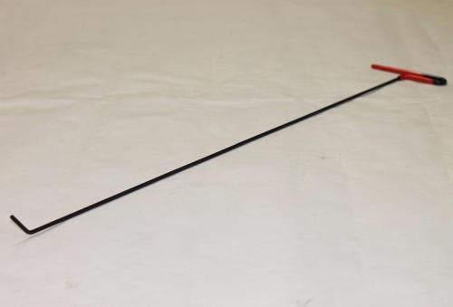 Крючок Ø 5 мм, длина 850 мм,угол загиба 45º.