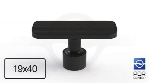 NUSSLE PROFI Пистоны для минилифтера, прямоугольные (40 мм * 19 мм, черные)