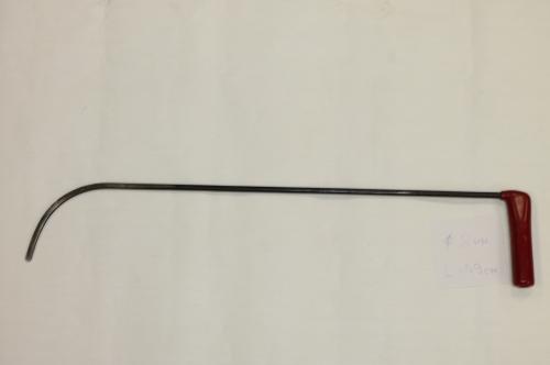 Крючок Ø 8 мм, длина 590 мм.