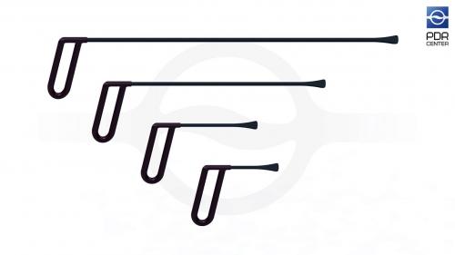 Набор из четырех инструментов для работы под усилителями КТ-4