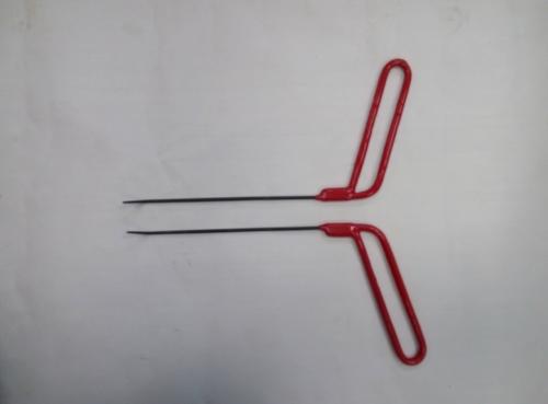 Пара Ø 3 мм, длина 200 мм,угол загиба 45º.