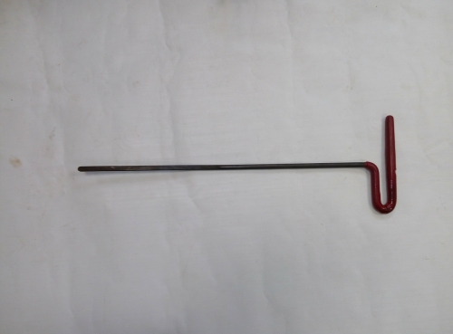 Крючок Ø 8 мм, длина 480 мм,угол загиба 5º.