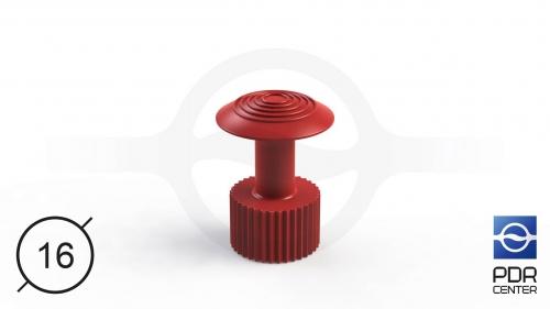 Клеевой грибок Wurth, красный (Ø 16 mm)