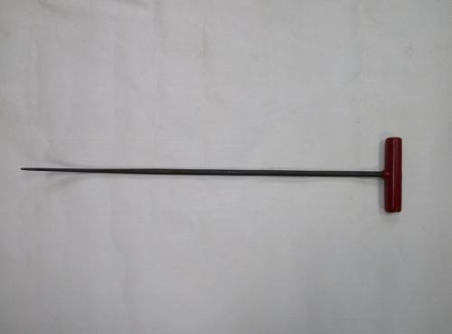 Крючок Ø 10 мм, длина 600 мм,угол первого загиба 15º,угол второго загиба 75º.
