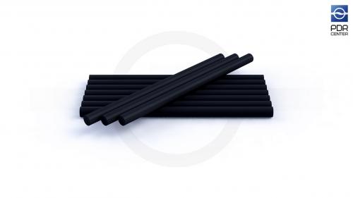 Клеевые стержни, черные, 10 шт