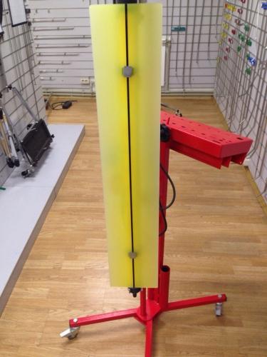 Комплект лампа в сборе (Большая одинарная  лампа + рассеиватель + держатель + штатив+пульт)