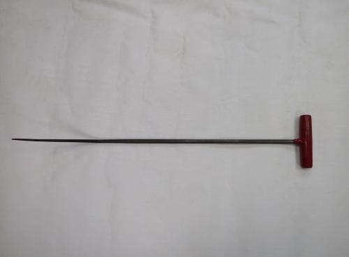 Крючок Ø 10 мм, длина 640 мм,угол первого загиба 45º,угол второго загиба 45º.