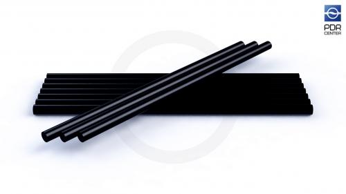 Клеевые стержни Atlas Glue, черные (10 штук)