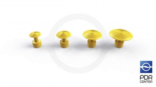 Комплект грибков GT-2 (4 штуки)