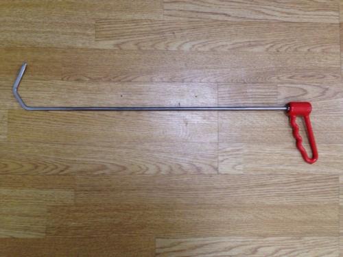 Крюк с поворотной ручкой (КЛЮВ) (Ø 7 мм, длина 600 мм)