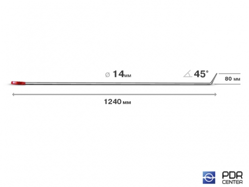 """""""Spitzmaus"""" - крючок (Ø 14 мм, длина 1180 мм)"""