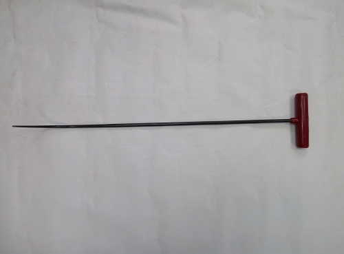 Крючок Ø 8 мм, длина 620 мм,угол загиба 90º(плавный).