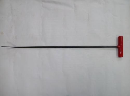 Крючок Ø 10 мм, длина 690 мм,угол загиба 45º.