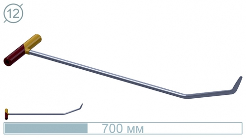 Крючок 10007 (№6n)