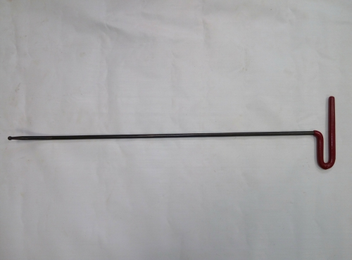 Крючок Ø 7 мм, длина 640 мм,угол загиба 35º.