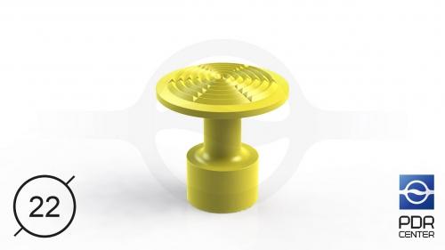 NUSSLE PROFI Пистоны для минилифтера (Ø 22, желтые)