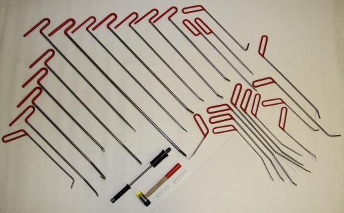 Набор инструментов для удаления вмятин Pro Tools 26 крючков