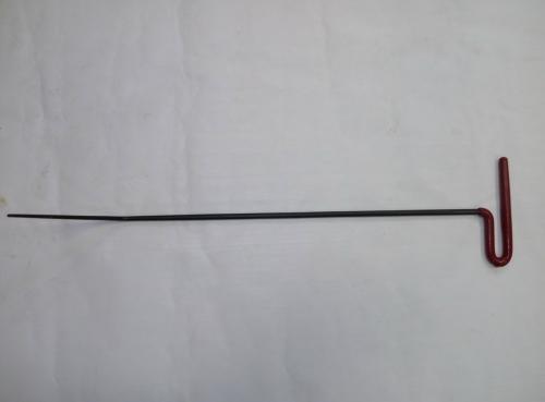 Крючок Ø 8 мм, длина 620 мм,угол загиба 45º.