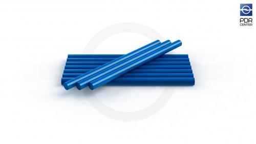 Клеевые стержни, 8 штук, синие