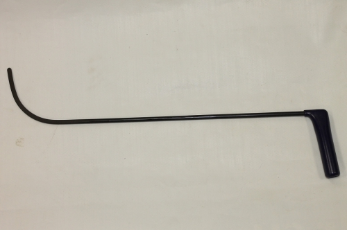Крючок Ø 8 мм, длина 630 мм,угол загиба 90º.